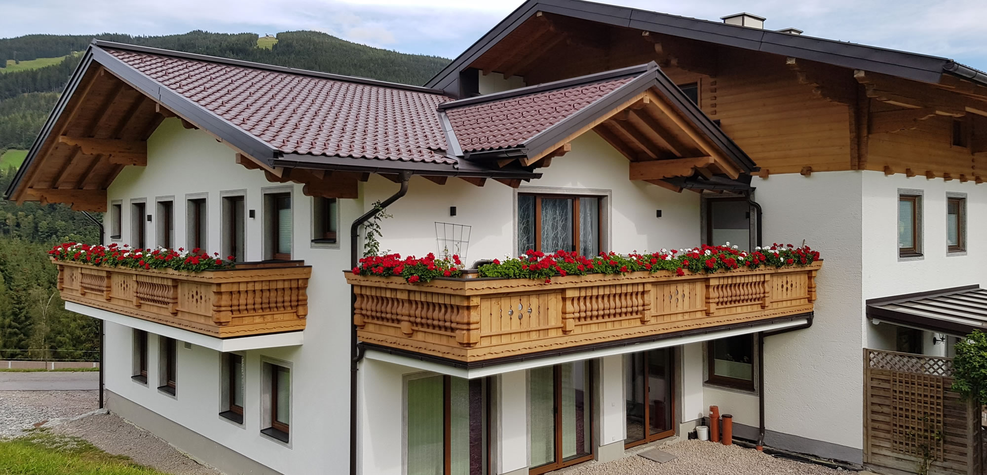 Sommerurlaub in Flachau, Appartements Bergpanorama